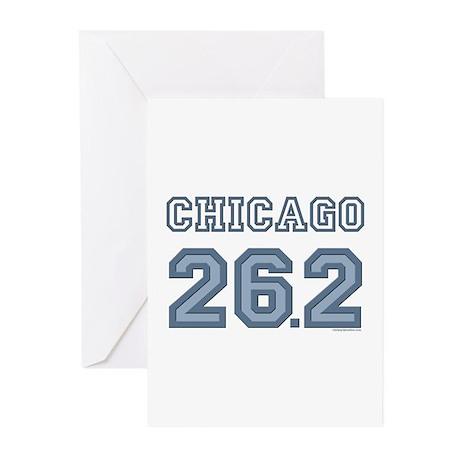 Chicago 26.2 Marathoner Greeting Cards (Pk of 10)