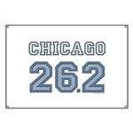 Chicago 26.2 Marathoner Banner