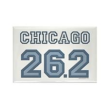 Chicago 26.2 Marathoner Rectangle Magnet (100 pack
