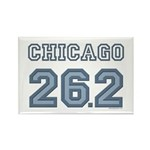 Chicago 26.2 Marathoner Rectangle Magnet (10 pack)