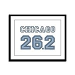 Chicago 26.2 Marathoner Framed Panel Print