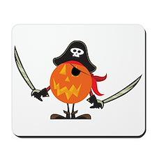 Pumpkin Pirate Mousepad