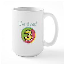 I'm Three Mug