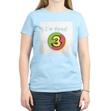 I'm Three T-Shirt