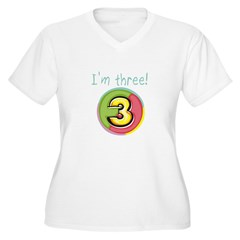 I'm Three T-Shirt