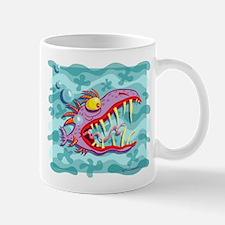 Purple Piranha Mug