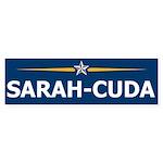 Sarah-Cuda / Sarah Palin 08 Bumper Sticker (10 pk)