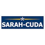 Sarah-Cuda / Sarah Palin 08 Bumper Sticker