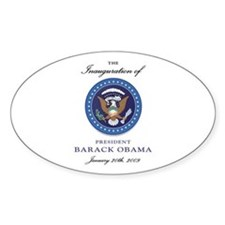 President Obama Oval Decal