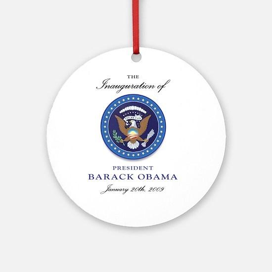 President Obama Ornament (Round)