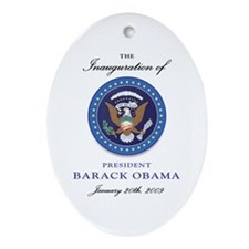 President Obama Oval Ornament