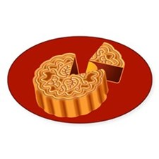 Mooncake Oval Decal