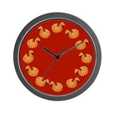 Mooncake Wall Clock