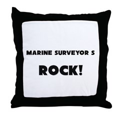 Marines ROCK Throw Pillow