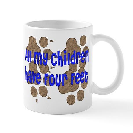 Four-Footed Children Mug