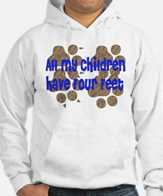 Four-Footed Children Hoodie