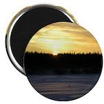 """Winter Sunrise 0165 2.25"""" Magnet (10 pack)"""