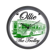 AFTM Ollie The Trolley Back S Wall Clock