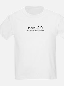 rss 2.0 w/ media enclosures Kids T-Shirt