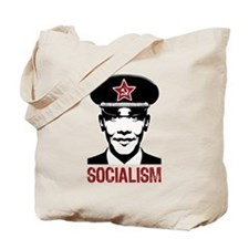 Obama Socialism Tote Bag