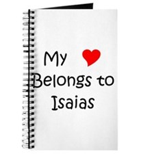 Funny Isaias Journal