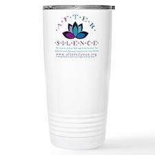 After Silence Lotus Design Travel Mug
