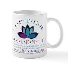 After Silence Lotus Design Mug