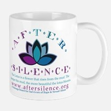 After Silence Lotus Design Mug