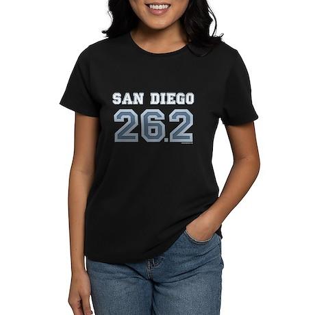 San Diego 26.2 Marathoner Women's Dark T-Shirt