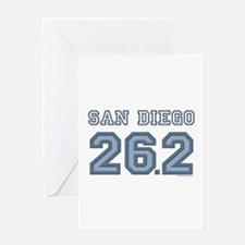 San Diego 26.2 Marathoner Greeting Card