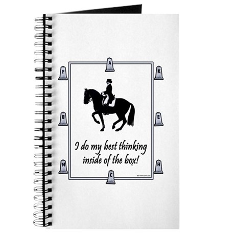 Dressage Box Thinking Journal