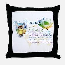I Found My Voice Throw Pillow
