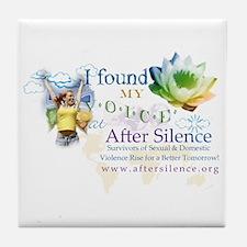 I Found My Voice Tile Coaster