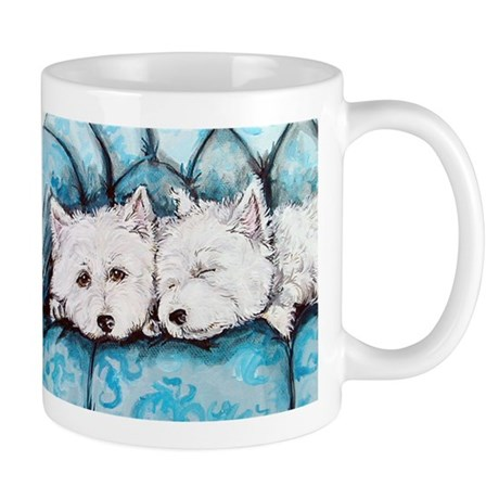 Westie Couch Potatoes Mug