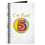 I'm Five Journal