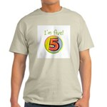 I'm Five Light T-Shirt
