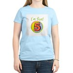 I'm Five Women's Light T-Shirt