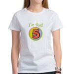 I'm Five Women's T-Shirt