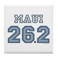 Maui 26.2 Marathoner Tile Coaster