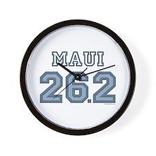 Maui 26.2 Marathoner Wall Clock