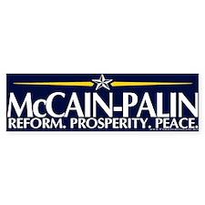 McCain-Palin Bumper Bumper Sticker