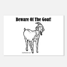 Beware of the Goat! Postcards (Package of 8)