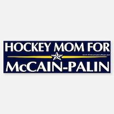 Hockey Mom for McCain-Palin Bumper Bumper Bumper Sticker
