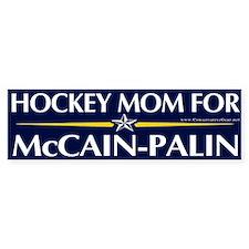 Hockey Mom for McCain-Palin Bumper Bumper Sticker