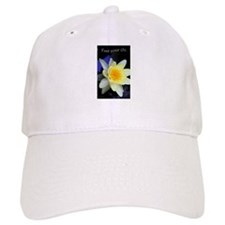 Free Your Chi Water Lily Baseball Baseball Cap