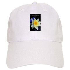 Free Your Chi Water Lily Baseball Cap