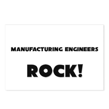Manufacturing Engineers ROCK Postcards (Package of