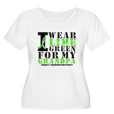 Lymphoma Grandpa T-Shirt