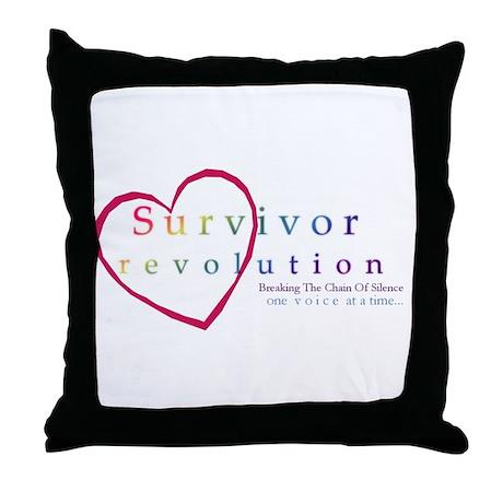 Survivor Revolution Throw Pillow