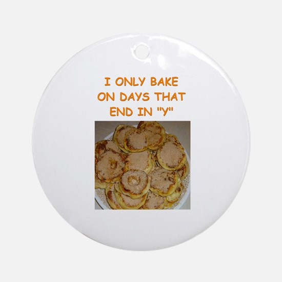 baking gifts t-shirts Ornament (Round)